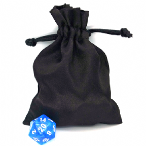 Small Satin Dice Bag